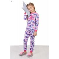 Пижама для девочки из кулирки